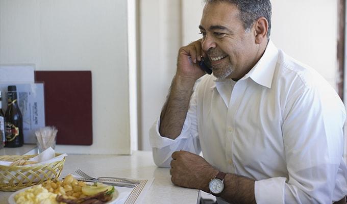 Breakfast with a Congressman