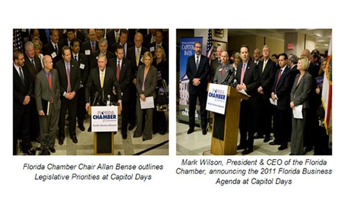 Florida Chamber of Commerce Unveils 2011 Legislative Agenda