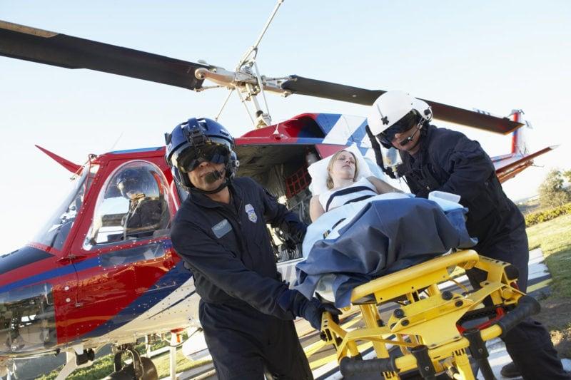 emergency helicopter transportation